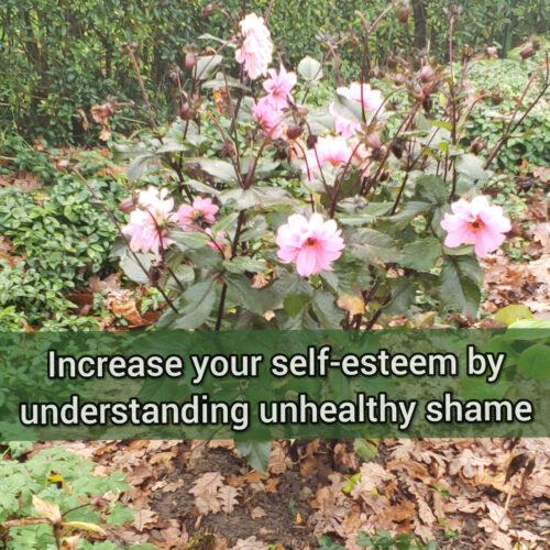Increase your self-esteem by understanding unhealthy shame